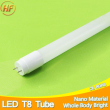 360 Degrees Bright LED Tube T8 Light 220v 240v 60cm 600mm 10w LED T8 Integrated Driver Fluorescent Lamp Bulb T8 Cold Warm White(China)