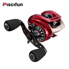 Piscifun Baitcasting Reel Pesca Right Left Handed Magnetic Brake System Saltwater Baitcaster 9+1BB Fishing Bait Casting Reel(China)