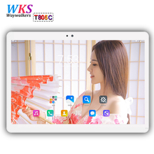 2018 newest 10 inch 3G/4G LTE tablet PC Android 7.0 octa core RAM 4GB ROM 64GB 1920x1200 IPS Dual SIM Card Smart tablets phone(China)