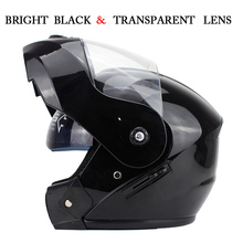 Best Sales Safe full face helmet motorcycle helmet Flip up helmet with inner sun visor everybody affordable Size:S,M, L, XL