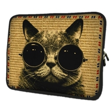 Cat Computer Bag Notebook PC Smart Cover For ipad MacBook waterproof Sleeve Case 7 9.7 11.6 13.3 14.4 15 17.3 inch Laptop Bag