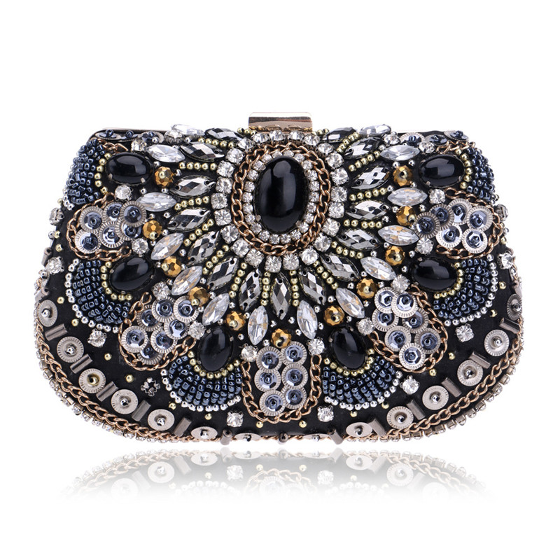 NEW women evening bags beaded wedding handbags clutch purse evening bag for wedding day clutches purse evening bags<br><br>Aliexpress