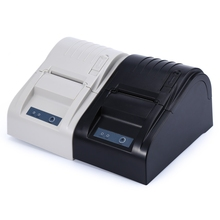 ZJ-5890T Freeshipping Poratble Mini 58mm Thermal Receipt Printer Ticket POS 58 Thermal Printer For Restaurant Supermarket