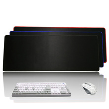 Solid Grande Gaming Mouse Pad Red/Blue/Black Locking Edge Keyboard Mouse Mat Rug Large Game Mousepad Gamer for CSGO Dota