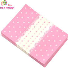 12.5*9cm 200pcs/lot candybag cute colorful spot design candy chirdren party Paper for handmade nougat wrapping(China)