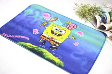 Wholesale Carpet Manufacturers Selling High Quality Export Absorbent Doormat Spongebob Mat For Bathroom Fast Shipping