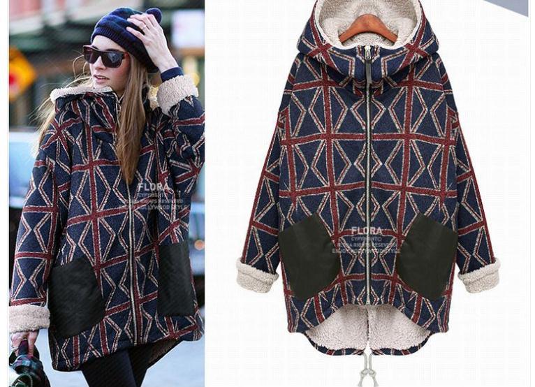 Free Shipping.sales thick fleece,cotton winter warm coat,womens Brand New fashion,long jacket plus size 5Îäåæäà è àêñåññóàðû<br><br>