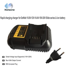 Replacement charger for Dewalt charger DCB105 DCB101 12V 14.4V 20V DCB120 DCB140 DCB180 DCB181 DCB182 Li-ion Battery charger(China)