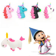 colourful Unicorn USB flash drive 16GB flash Stick 32G usb flash rainbow 64gb Pen Drive 8gb memory drive 4gb flash disk usb 2.0