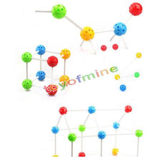 Creative Variety Child intelligence splicing toy educational toys 3D building blocks magnetic stick with bead baby favorite gift