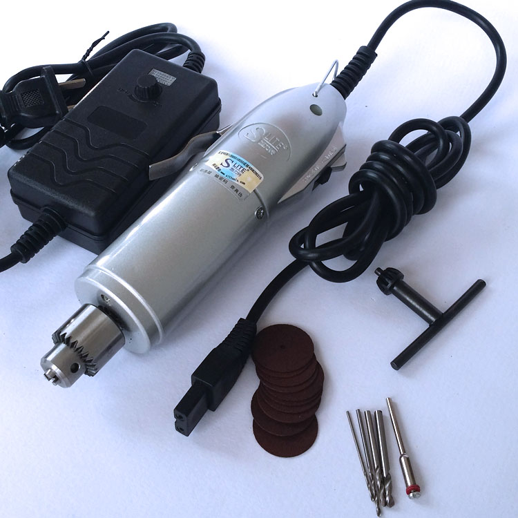 220v Miniature drill 0.5-3mm adjustable speed engraving machine mini electric grinding polishing drilling small drill pen<br>