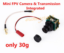 HD 800TVL Sony CCD Mini FPV Camera & 5.8GHz 200mW Transmission Transmitter TX Integrated for QAV250 ZMR250 280 300 ect.(China)