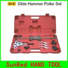 BESTIR taiwan made excellent quality Cr-V steel Slide Hammer Puller tool kit for Car parts cave Repair,NO.93205