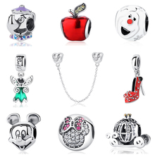 Buy Authentic 100% 925 Sterling Silver Bead Charm Cartoon Icon Fairy Tale Charms Fit Pandora Bracelets & Bangles Women Diy Jewelry for $5.58 in AliExpress store