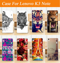 Buy 2015 Hot Sale Fashion Painting Phone Case Lenovo K3 Note Cases Hard Plastic PC Shell Back Cover Case Lenovo k3 note A7000 for $1.30 in AliExpress store