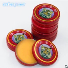 20pcs/lot Chinese Tiger Balm Red Refresh Oneself Treatment Of Influenza Cold Headache Dizziness Muscle Massager Relax Essentia