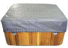 Best buy hot tub cover cap Winterwise hot tub and spa cover Protector cap size 2.4 m x 2.4 m x 30.5 cm (8 ft. x 8 ft. x 12 in.)