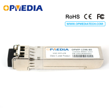 Compatible FOUNDRY 10GBASE-ZR SFP+ transceiver,10G 1550nm 80km ZR optical module dual LC connector DDM - Opmedia Transceivers store