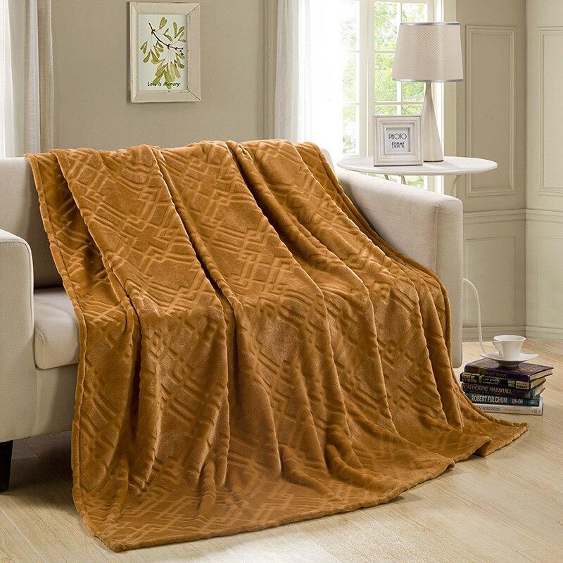 200230CM Warm Micro Plush Throw Blanket  Bed Quilt Sofa Blanket All Season Throw Blanket TV Blanket and Bedsheet<br><br>Aliexpress