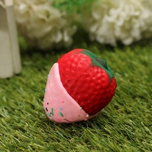Strawberry Phone Straps Butter Soft Toy Stress Reliever Cartoon Simulation Cellphone Charm Slow Rebounding Pendant Decor
