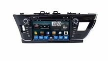 "8"" Android Car DVD Player with TV/BT GPS 3G WIFI,Car PC/multimedia headunit Audio/Radio/Stereo for TOYOTA COROLLA 2014 LEFT(China)"
