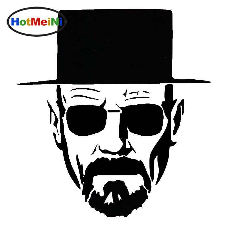 HotMeiNi Heisenberg Cool Old Man Vicissitudes Topic Vinyl Decal Sticker Car Laptop,Truck Bumper Wall Graphic Marvel Comics