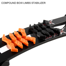 GP Archery Compound Bow Limbs Stabilizer/Damper Available for Space between 26mm-35mm