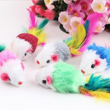 1pcs Hot-sale False Mouse Pet Cat Toys Cheap Funny Playing Toys For Kitten
