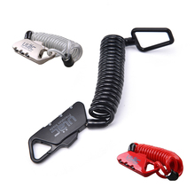 HOTsale Cycling Cable Lock MTB Road Bike Helmet Lock Bicycle Prevent Theft Password Lock Safety Security Tools(China)