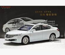2014 New Honda Accord origin alloy car model 1:18 the Ninth generation gift collection diecast black/white Japan