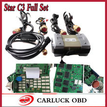2017 High Quality Mb Star C3 Red port Xentry DAS Diagnostic Tool With Software 2016.12 for mb star c3 Free R232 To USB cable