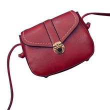 2017 New Arrival, Mini Women Bags Imitation leather Shoulder Bag Satchel Handbag Retro Vintage Messenger Bag Bolsas Mujer