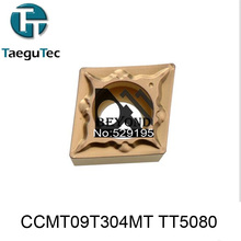 CCMT09T304FG TT5080,Genuine Original Korea TaeguTec CNC insert use Large Medium Small mini lathe tools by turning tool holder