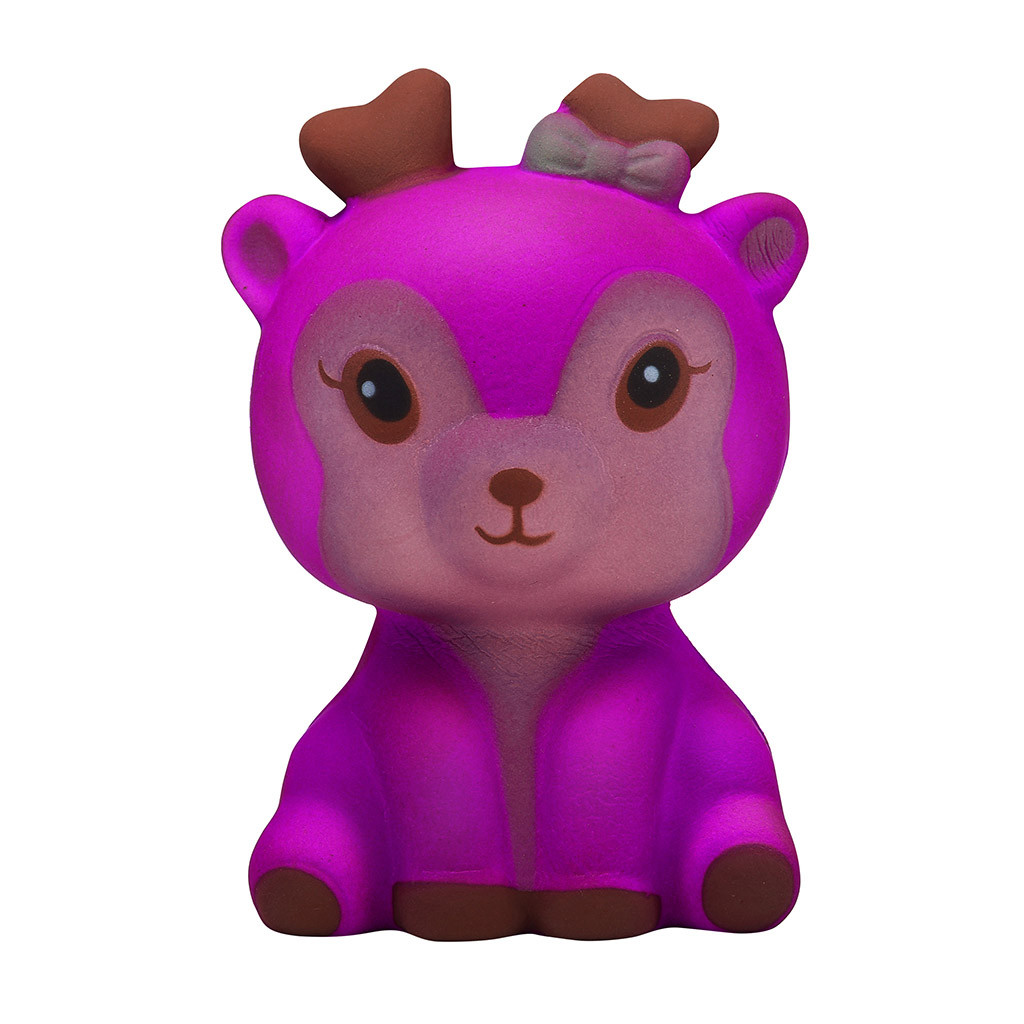 Color Change Deer Slow Rising Squishy Toy 4