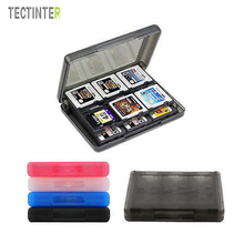 28 in 1 Protective Game card Cartridge Holder Case Box For Nintendo DS / DS Lite / DSi / 3DS / 3DS XL/LL(China)
