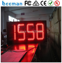 waterproof Outdoor LED digital traffic time clock/timer/countdown/counter display sign digital wall led countdown timer