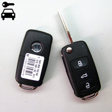 Original Size Car Remote Key for VW Volkswagen GOLF PASSAT Tiguan Polo Jetta Beetle Hella 434MHz ID48 Chip 5K0837202AD 753AB