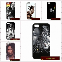 Famous Male Star Bob Marly Phone Cases Cover For iPhone 4 4S 5 5S 5C SE 6 6S 7 Plus 4.7 5.5 AM0677(China)