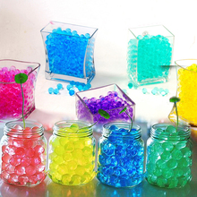 Multi Colors Crystal Soil Mud 500PCS Grow Up Water Beads Cute Hydrogel Magic Gel Jelly Balls Orbiz Sea Babies For Vase Decor(China)