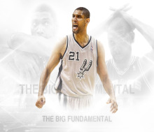 "Tim Duncan Basketball Star Fabric Poster 28""x 24"" 16""X13""--26(China)"