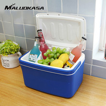 MALUOKASA 8L Portable Car Refrigerator Auto Interior Fridge Drink Food Cooler Warmer Box Fruit Fresh-keeping Cabinet Freezer(China)
