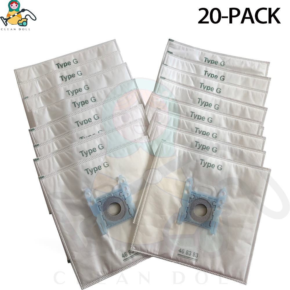 20-PACK  GL30 bags for Bosch vacuum cleaner  Type G bags GL-30 Pro GL-40  BGL8508 GL 30 bags for Bosch vacuum cleaner(China)