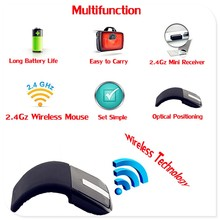 2.4Ghz Foldable Wireless Mouse Folding Arc Touch Mouse Mause Computer Gaming Mouse Mice for Microsoft Surface PC Laptop Desktop