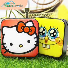 Waterlowrie Fashion Sport MP3 Hello Kitty mp3 Minions mp3 Music Player Support 8G TF Card Mini MP 3 Player usb mp3 for Gift(China)