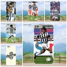 Onlytake Football Soccer Team Juventus New Black For Apple iPhone X 4 4S 5 5C SE 6 6S 7 8 Plus Galaxy Grand Core II Prime Alpha(China)