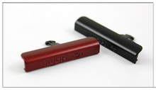 Black/Red New Housing Cover For Sony Ericsson Xperia ion LT28 LT28i LT28h USB Plug,Free Shipping(China)