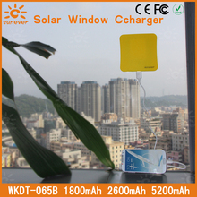 5200MAH!! Free shipping cargador solar sunever new product hot sale solar panel charger for iphone/ipad/ipod(China)