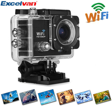 New Action Camera Q5 30-Meter Waterproof 170 HD Lens Suport WIFI HDMI With Monopod Tripod Adapter For Action Camera
