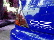 3sizes Car Styling Wheel Modified Brand OZ Racing Car Sticker Decals
