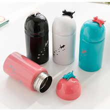 New Cartoon Style Thermo mug Stainless Steel Vacuum Thermos Insulated Cups Coffee Mug Travel School Thermoses Drink Bottle Kids